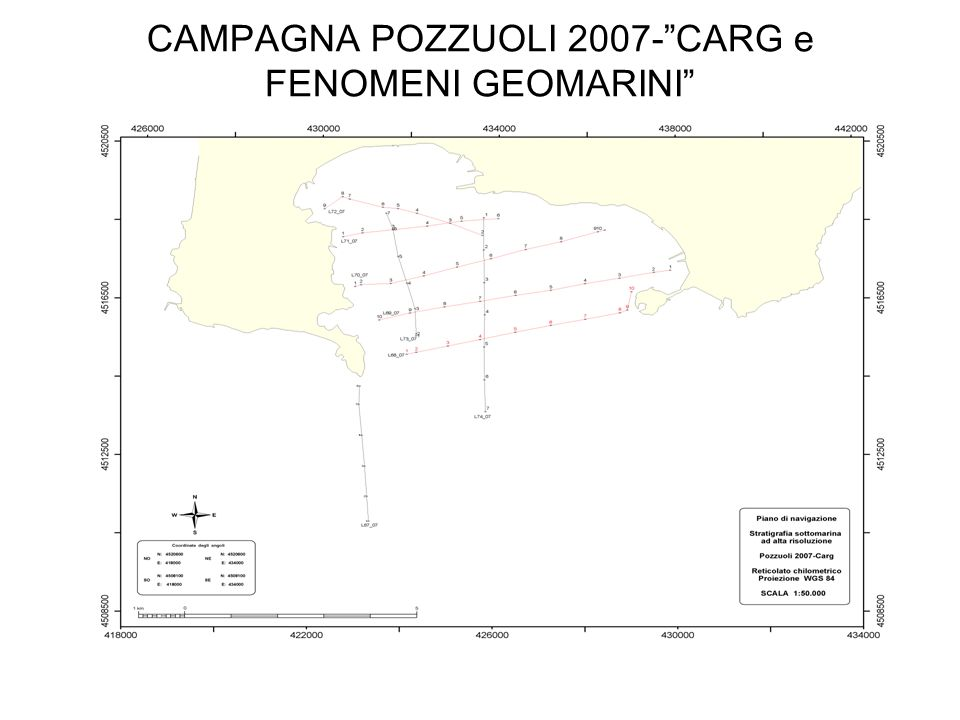 CAMPAGNA POZZUOLI 2007- CARG e FENOMENI GEOMARINI