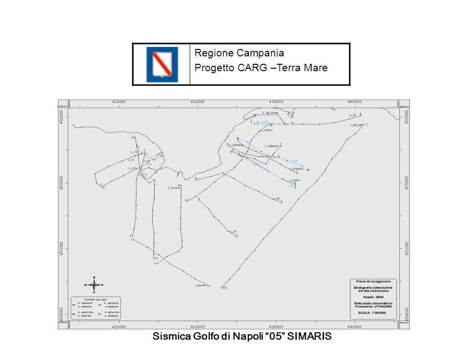 Regione Campania Progetto CARG –Terra Mare Sismica Golfo di Napoli 05 SIMARIS
