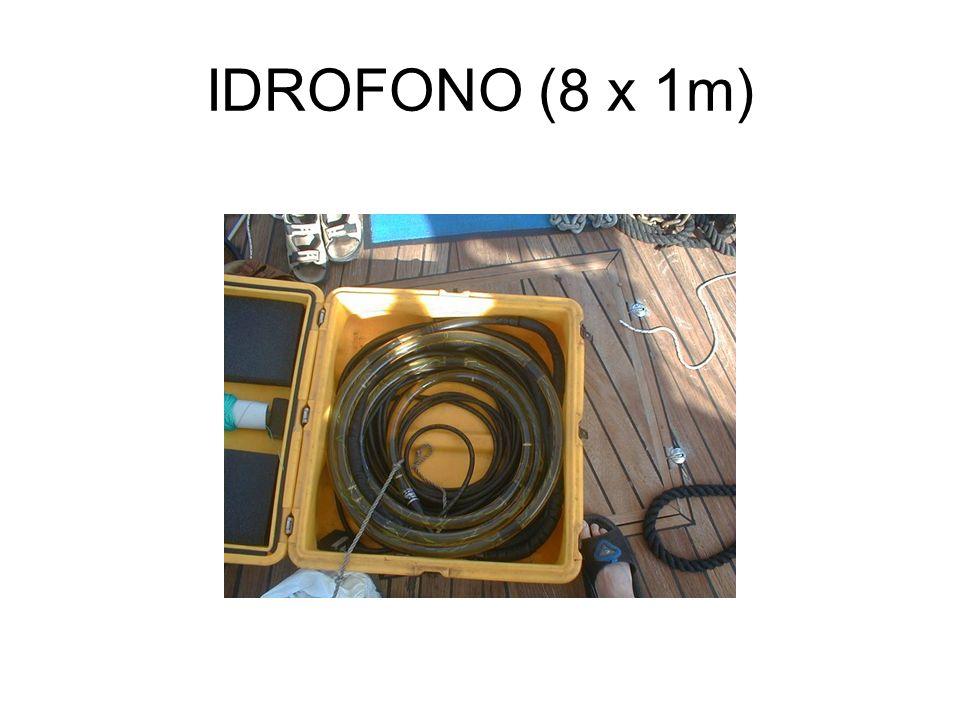 IDROFONO (8 x 1m)