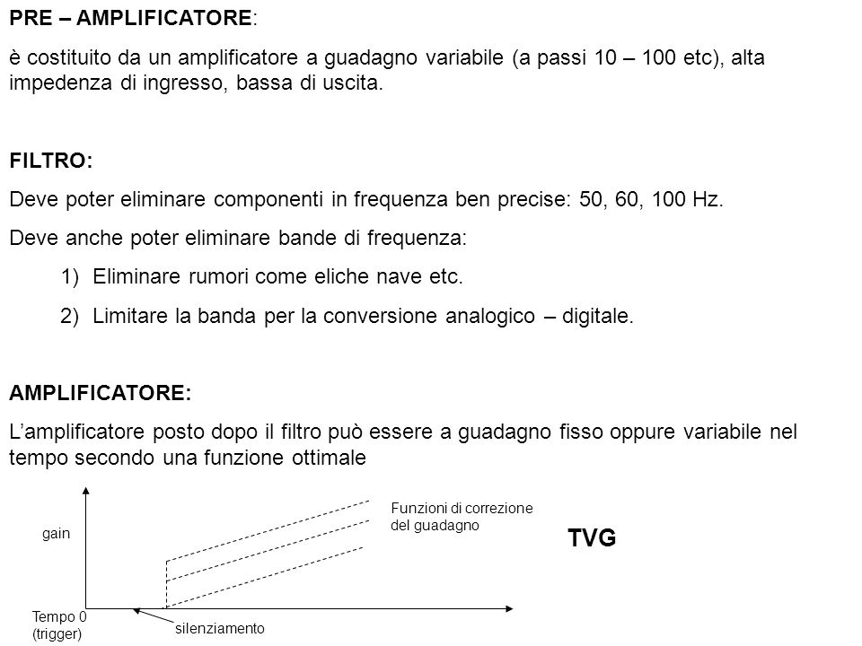 TVG PRE – AMPLIFICATORE: