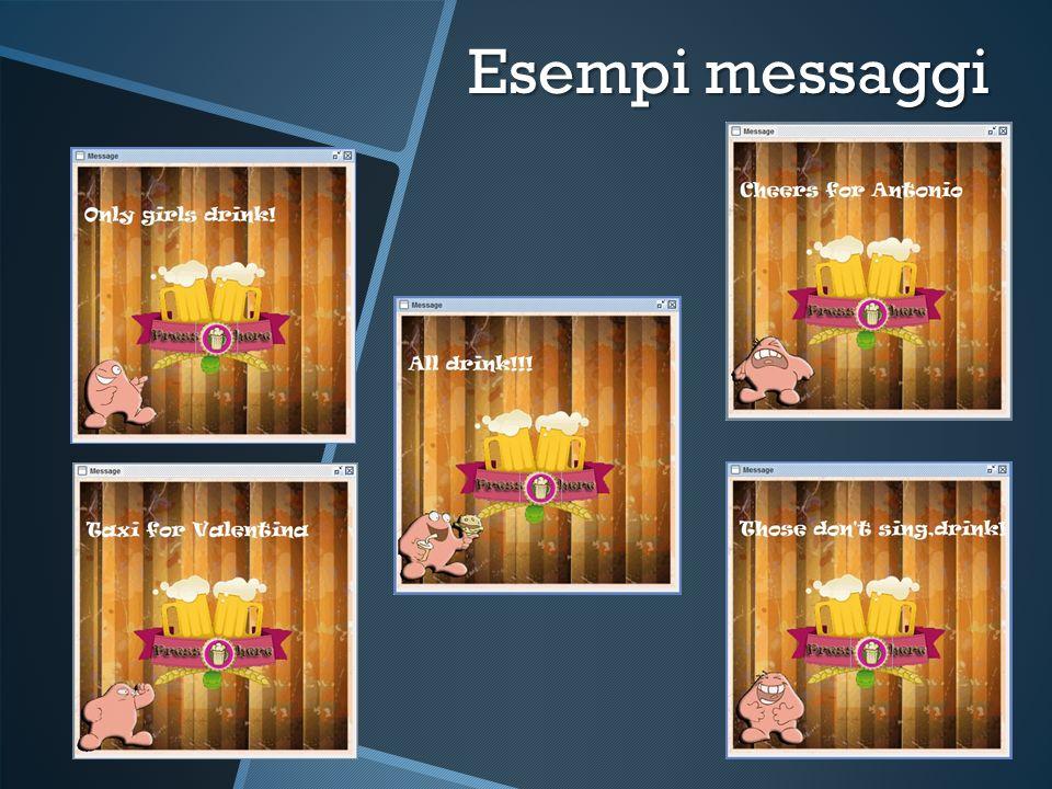 Esempi messaggi