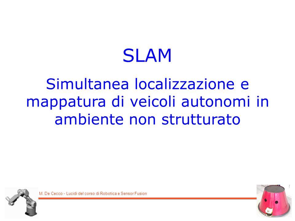 SLAM Simultanea localizzazione e mappatura di veicoli autonomi in ambiente non strutturato