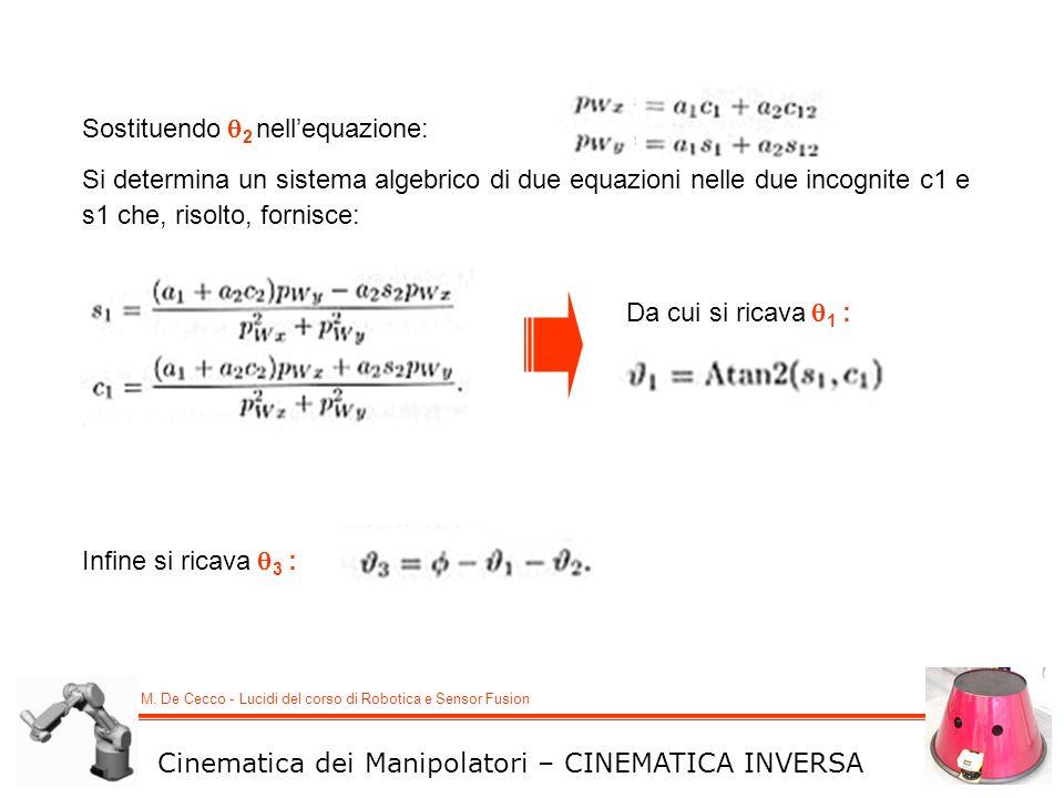 Sostituendo 2 nell'equazione: