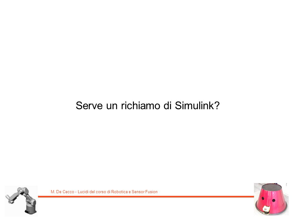 Serve un richiamo di Simulink