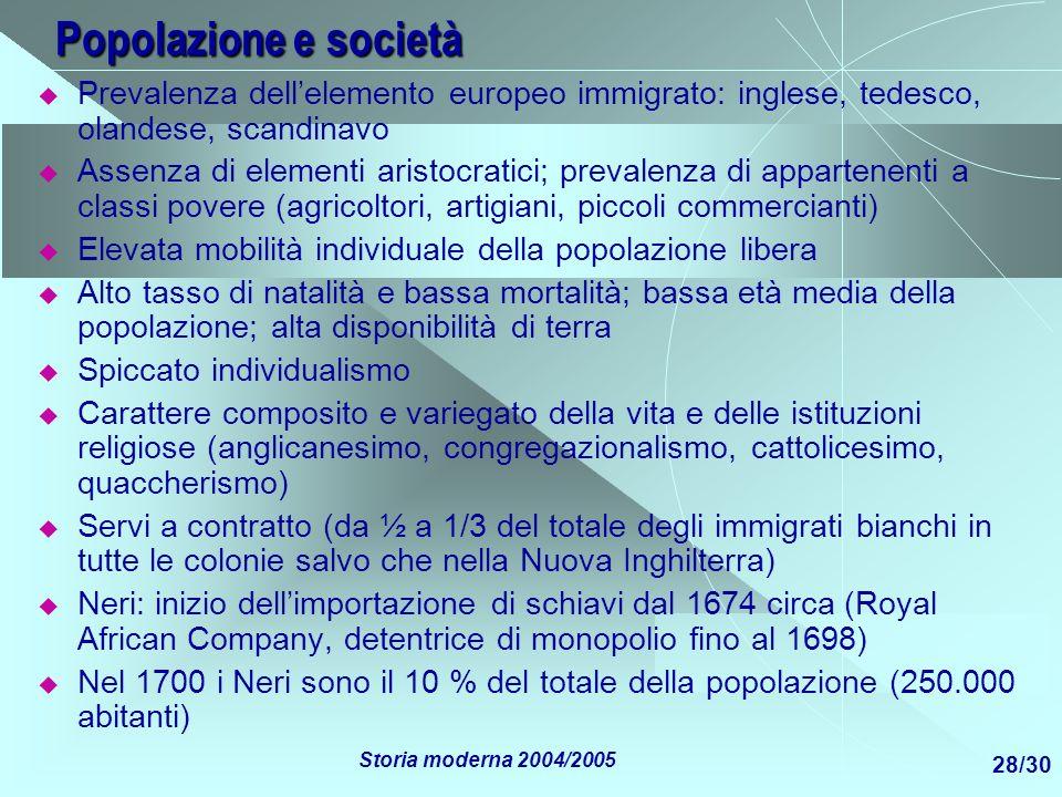 Popolazione e societàPrevalenza dell'elemento europeo immigrato: inglese, tedesco, olandese, scandinavo.