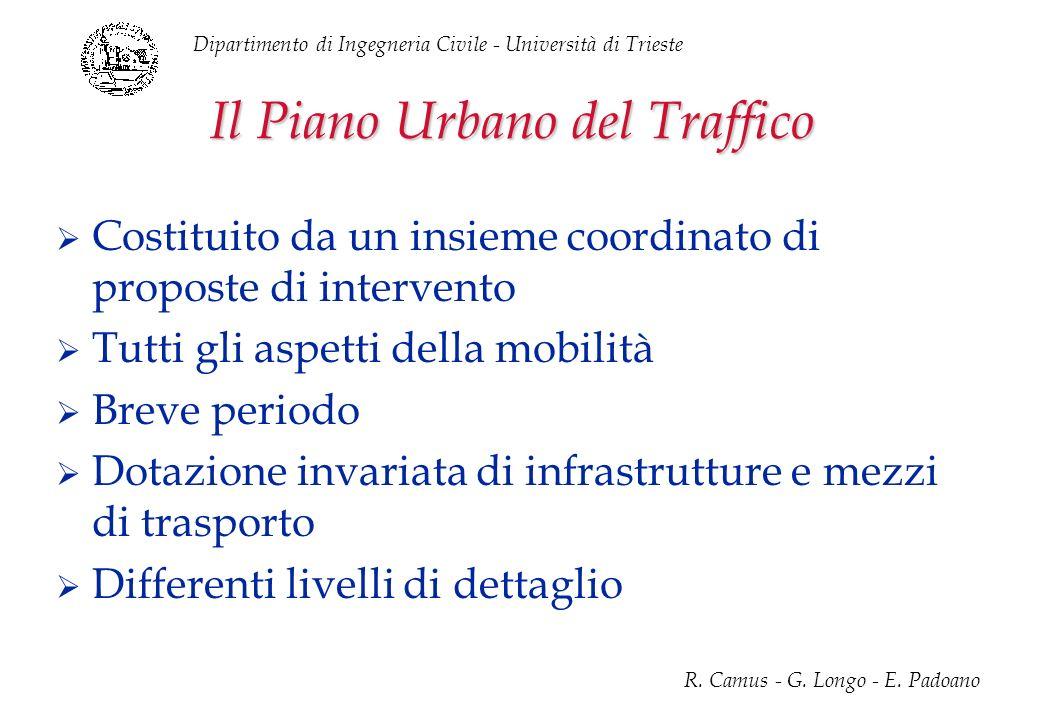 Il Piano Urbano del Traffico