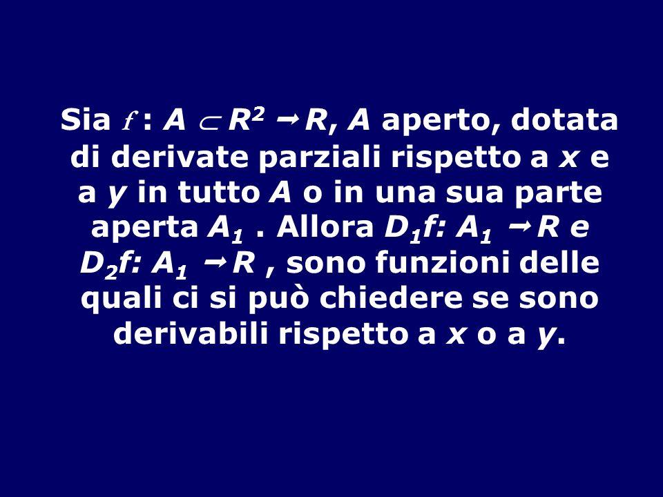 quali ci si può chiedere se sono derivabili rispetto a x o a y.