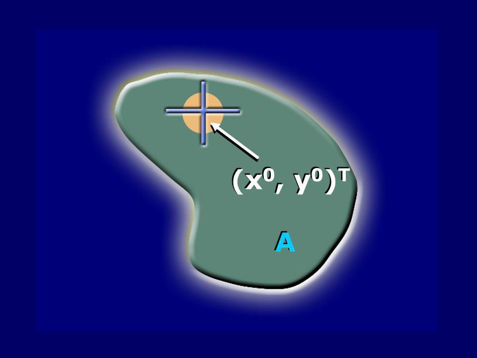 (x0, y0)T A