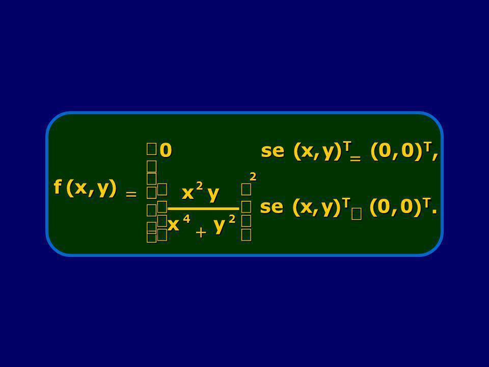 f ( x , y ) = se )T )T, 2 4 + æ è ç ö ø ÷ ¹ )T. ì í ï î