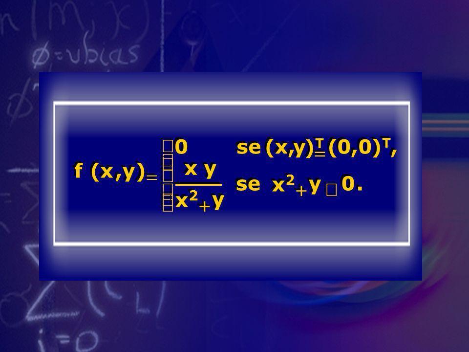 f ( x , y ) = se )T )T, x y x2 + ¹ . ì í ï î