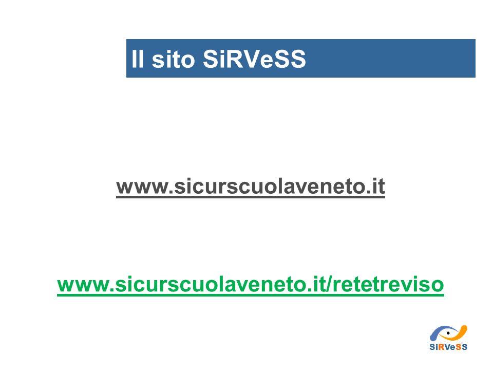 Il sito SiRVeSS www.sicurscuolaveneto.it