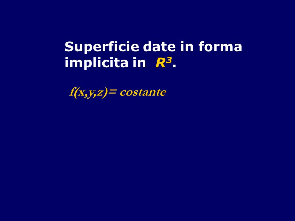 Superficie date in forma