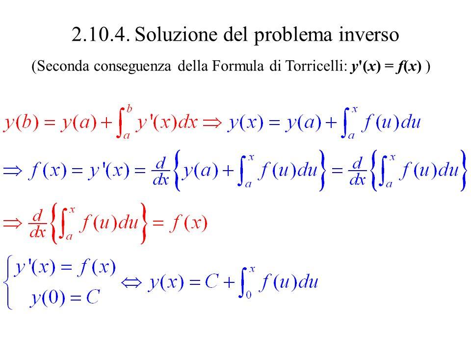 2.10.4. Soluzione del problema inverso