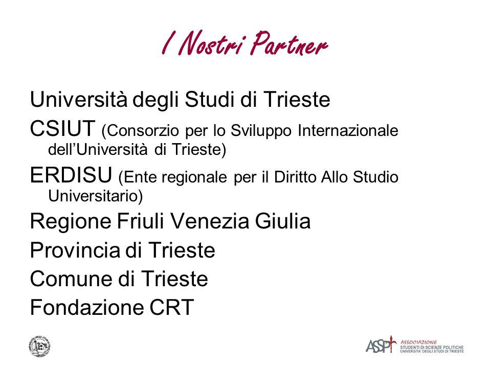 I Nostri Partner Università degli Studi di Trieste