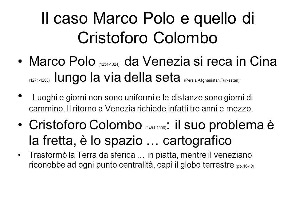 Il caso Marco Polo e quello di Cristoforo Colombo