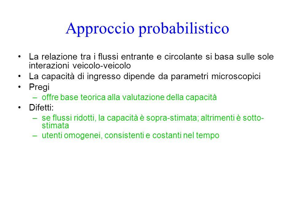 Approccio probabilistico