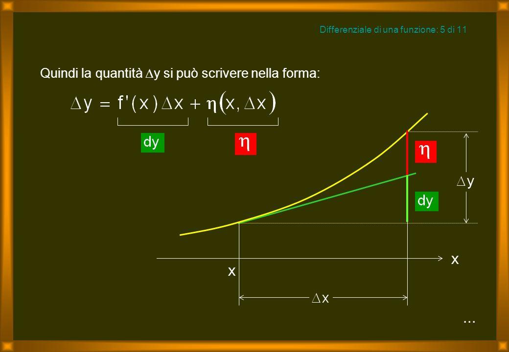 Differenziale di una funzione: 5 di 11