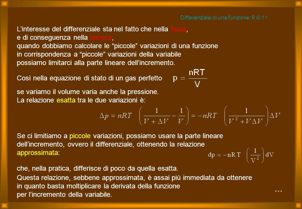 Differenziale di una funzione: 9 di 11