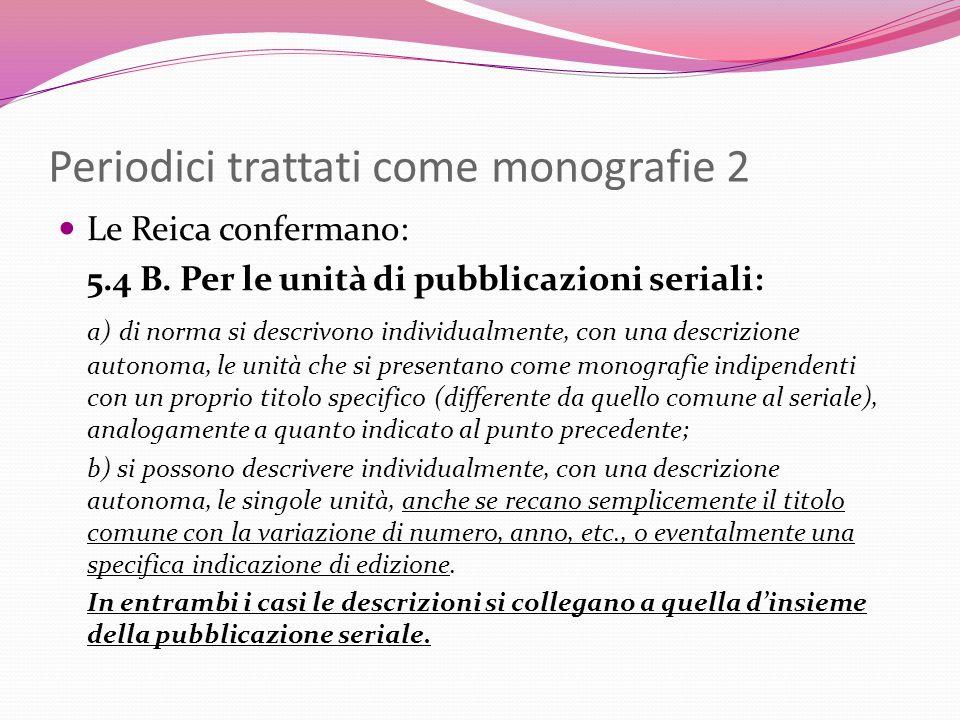 Periodici trattati come monografie 2