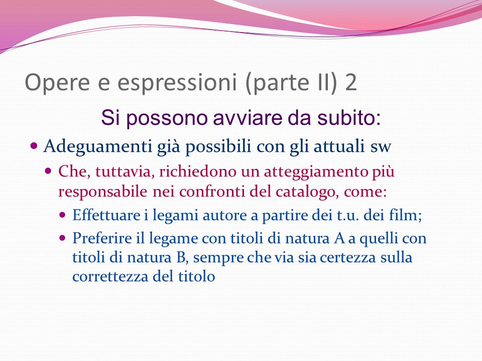 Opere e espressioni (parte II) 2