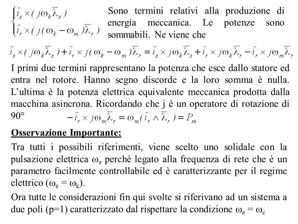 Sono termini relativi alla produzione di energia meccanica