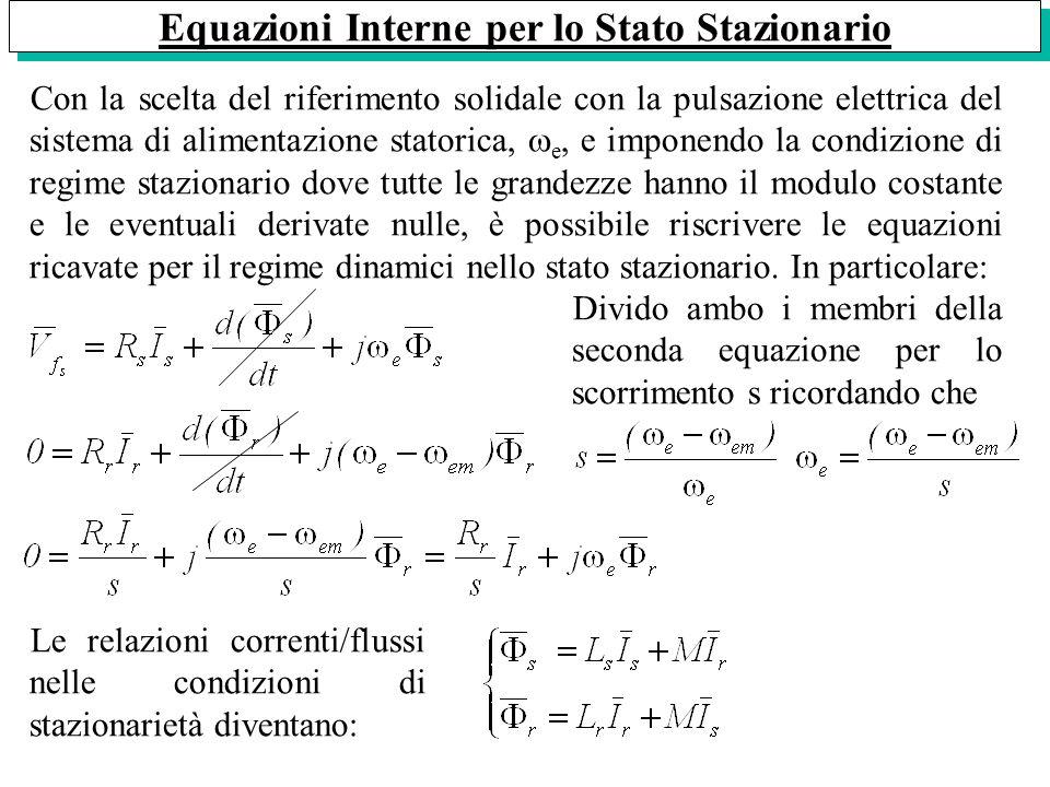 Equazioni Interne per lo Stato Stazionario