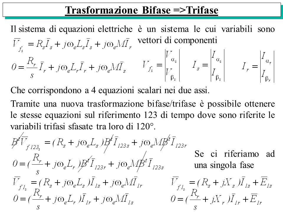 Trasformazione Bifase =>Trifase