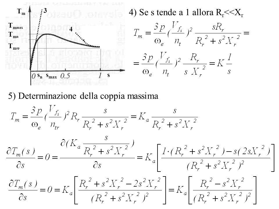 4) Se s tende a 1 allora Rr<<Xr