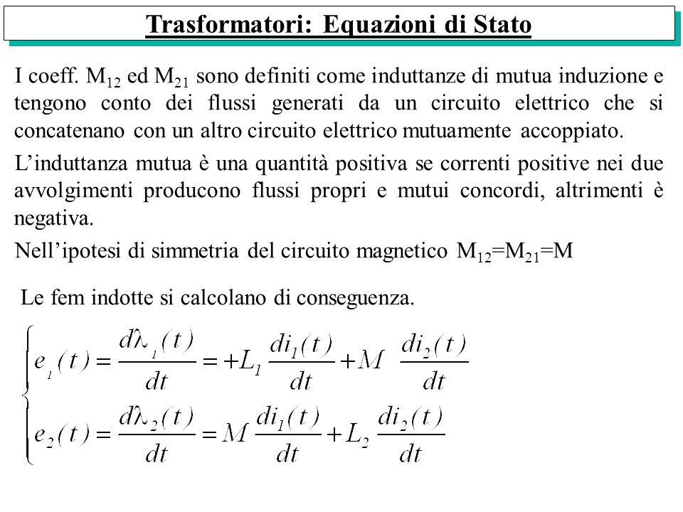 Trasformatori: Equazioni di Stato