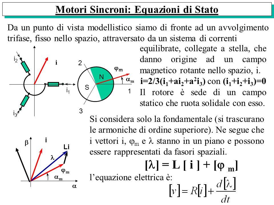 Motori Sincroni: Equazioni di Stato