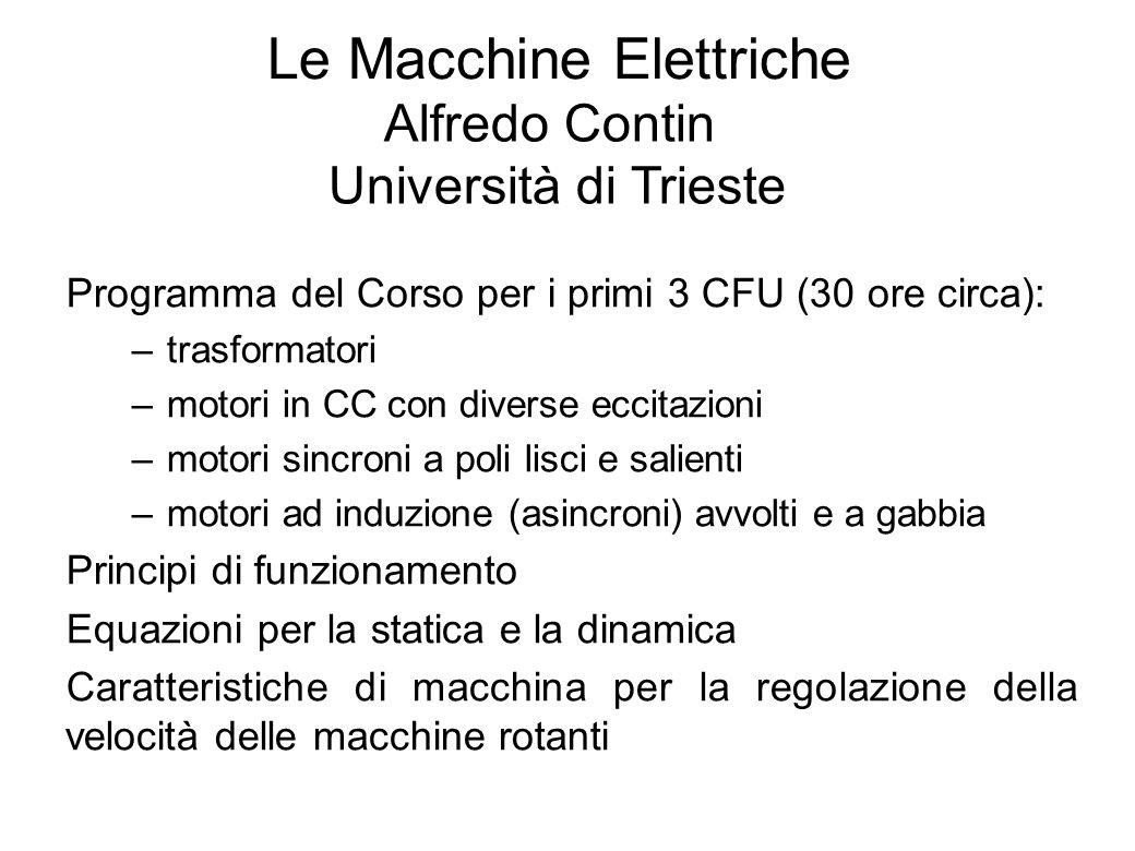 Le Macchine Elettriche