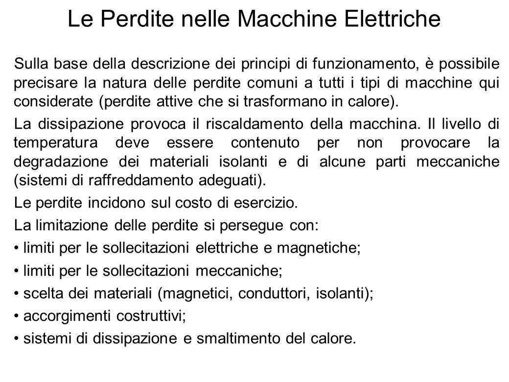Le Perdite nelle Macchine Elettriche