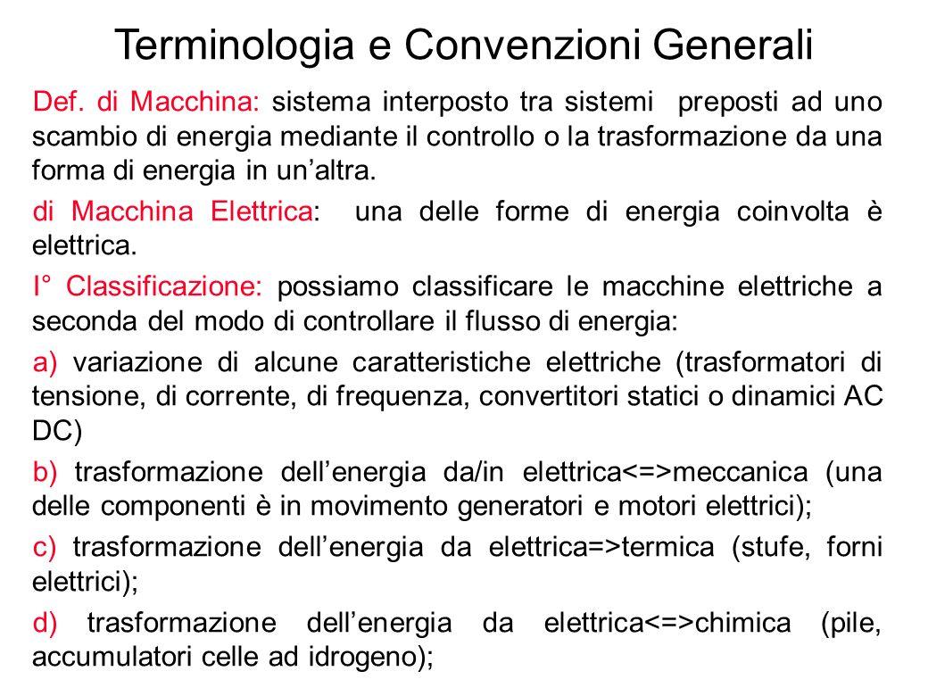 Terminologia e Convenzioni Generali