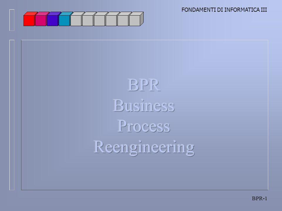 BPR Business Process Reengineering