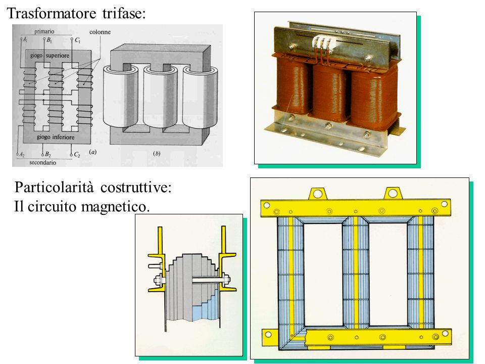 Trasformatore trifase: