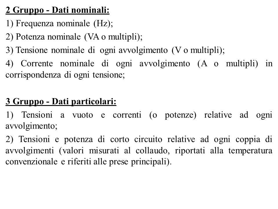 2 Gruppo - Dati nominali: