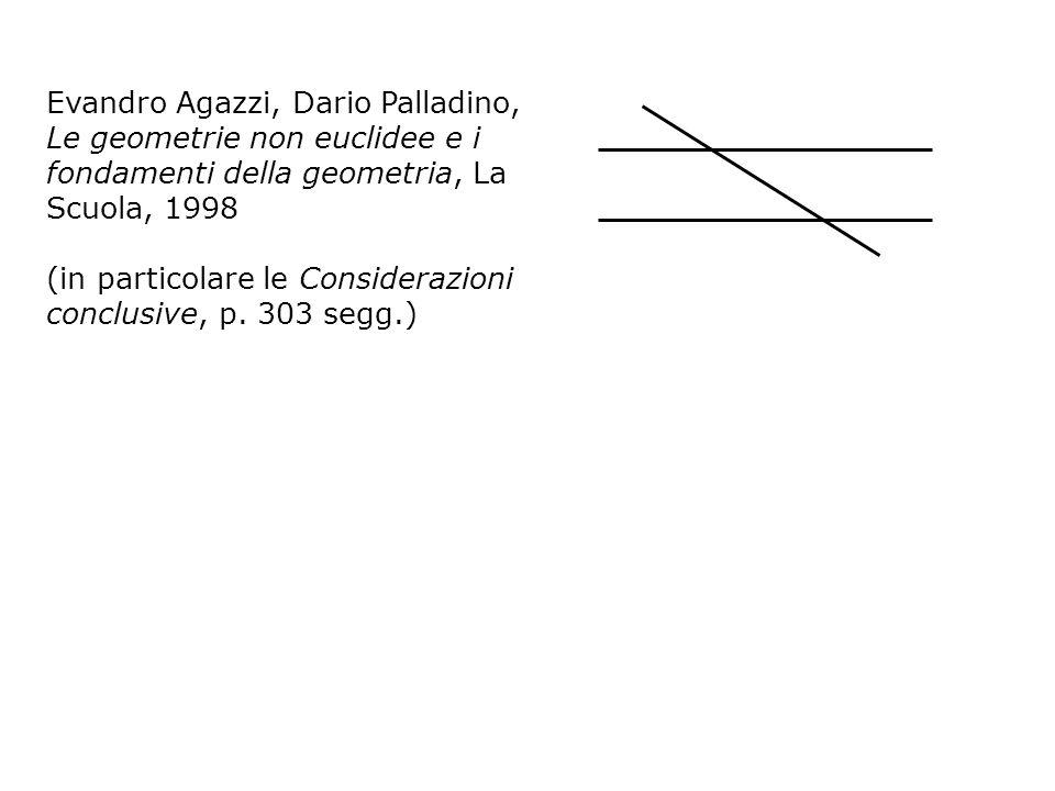 Evandro Agazzi, Dario Palladino, Le geometrie non euclidee e i fondamenti della geometria, La Scuola, 1998