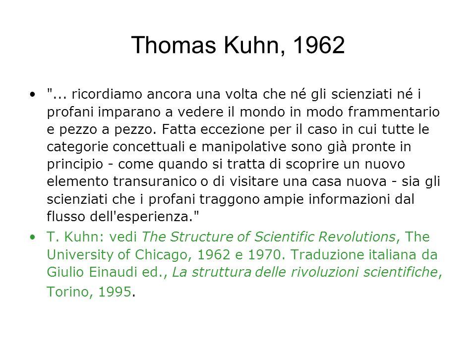 Thomas Kuhn, 1962