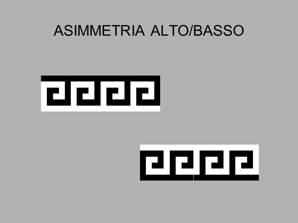 ASIMMETRIA ALTO/BASSO