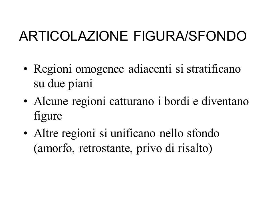 ARTICOLAZIONE FIGURA/SFONDO