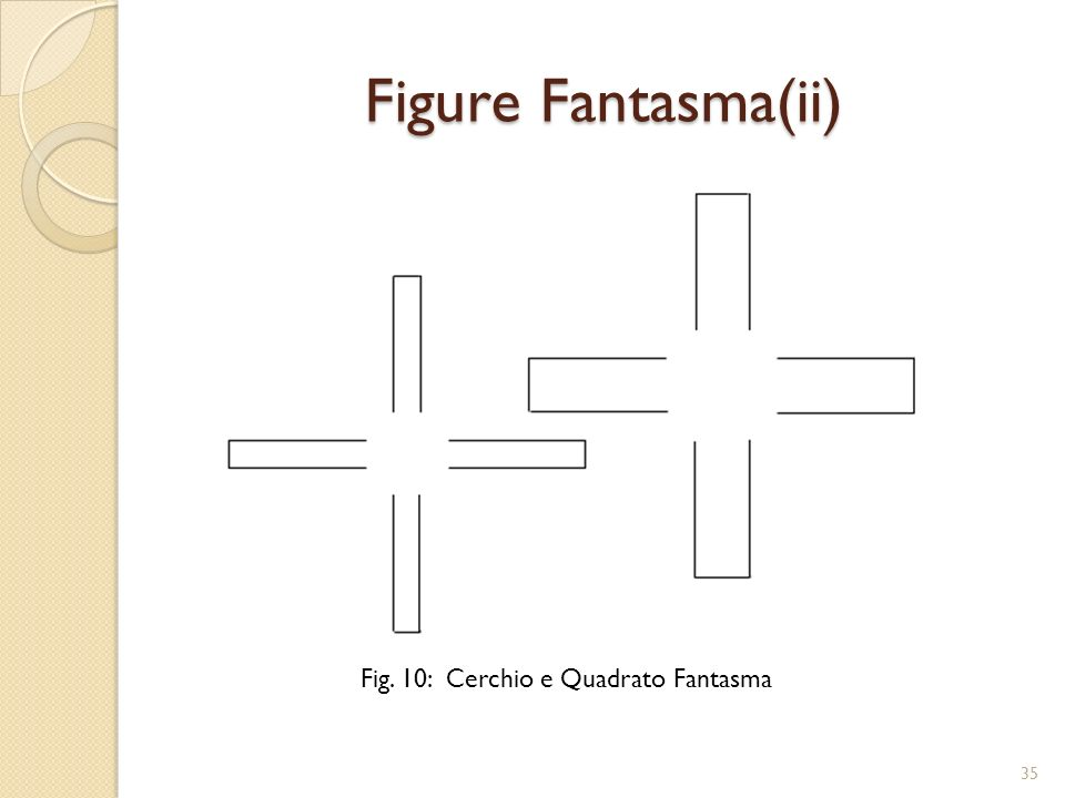 Figure Fantasma(ii) Fig. 10: Cerchio e Quadrato Fantasma