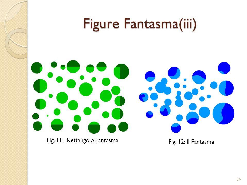 Figure Fantasma(iii) Fig. 11: Rettangolo Fantasma Fig. 12: Il Fantasma