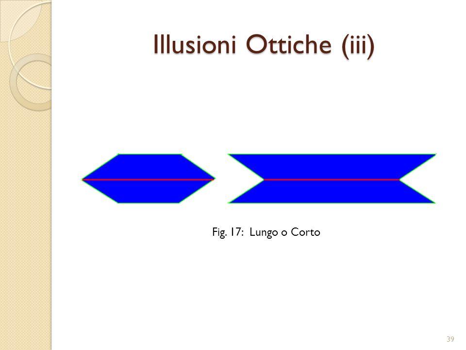 Illusioni Ottiche (iii)