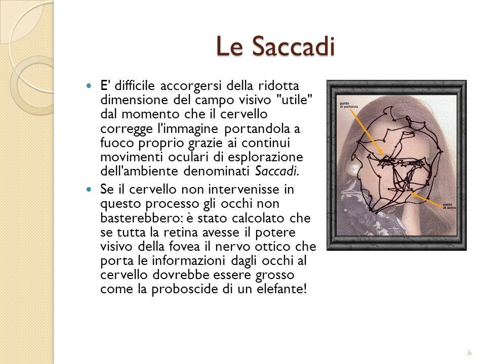 Le Saccadi