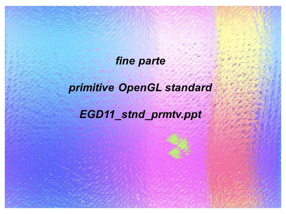 primitive OpenGL standard