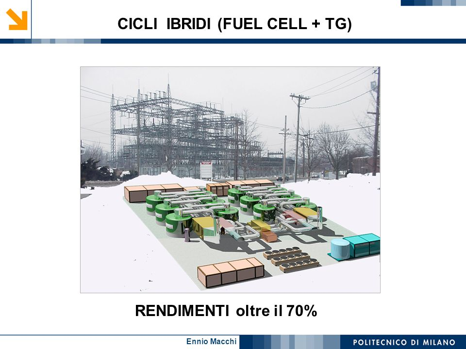 CICLI IBRIDI (FUEL CELL + TG)