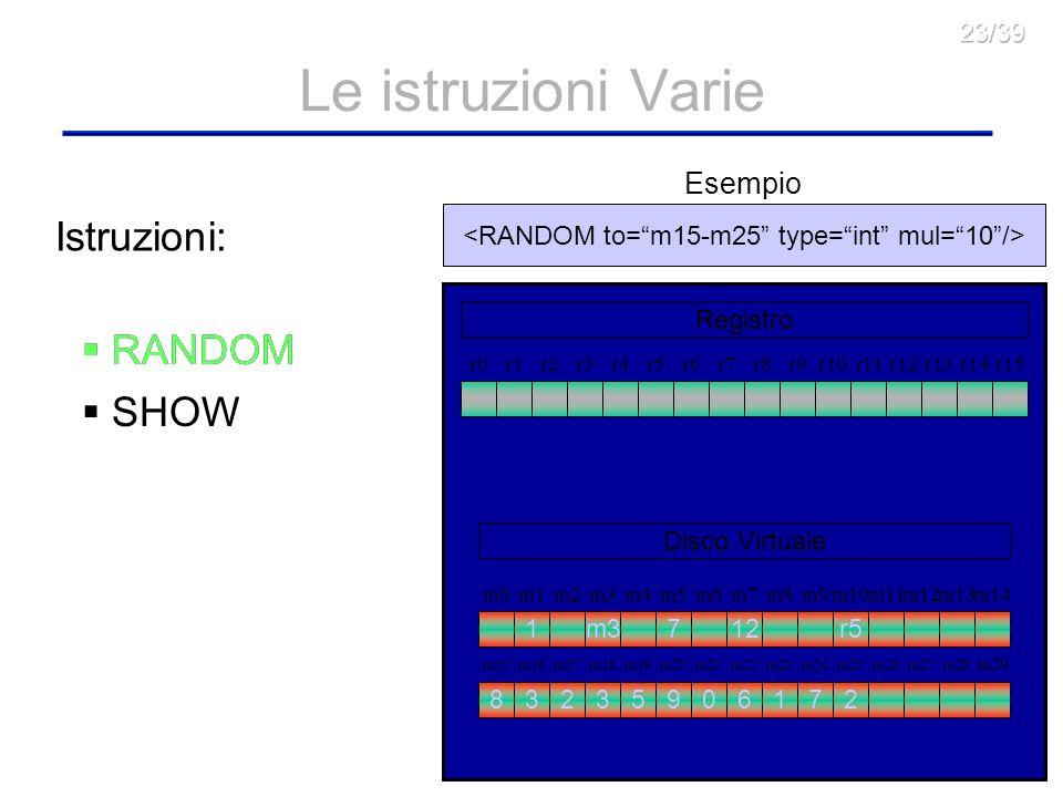 <RANDOM to= m15-m25 type= int mul= 10 />
