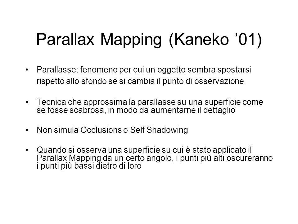 Parallax Mapping (Kaneko '01)