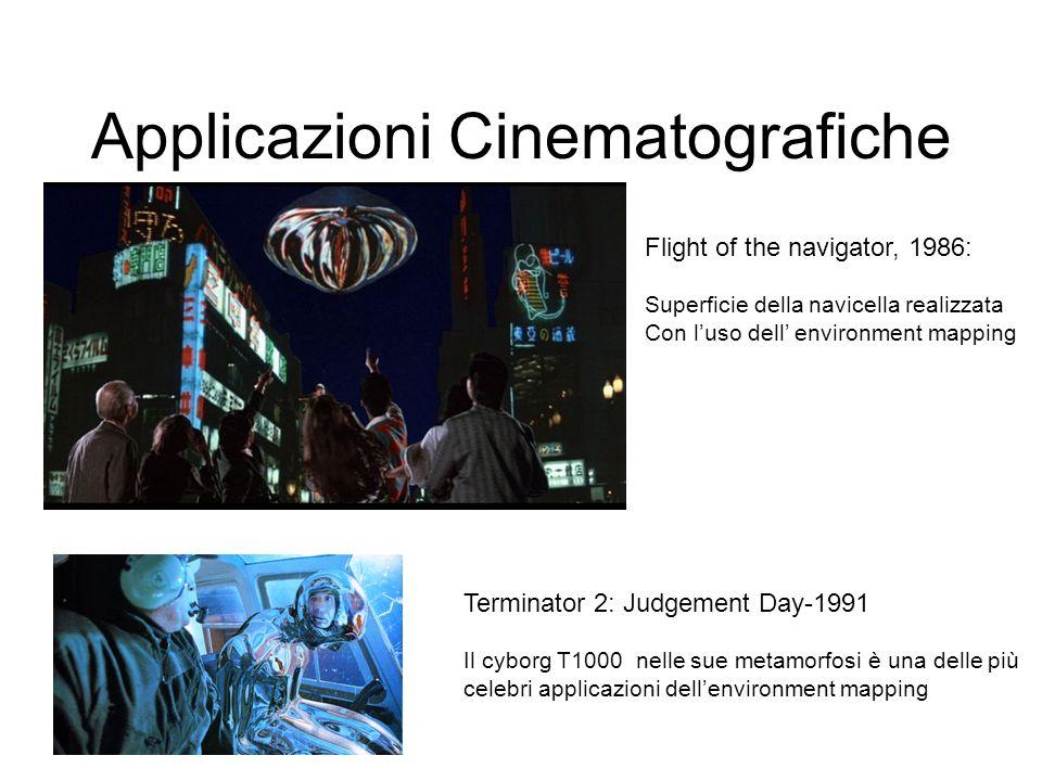 Applicazioni Cinematografiche