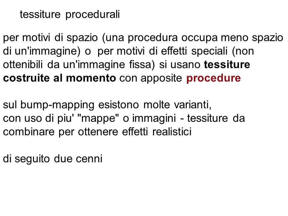 tessiture procedurali